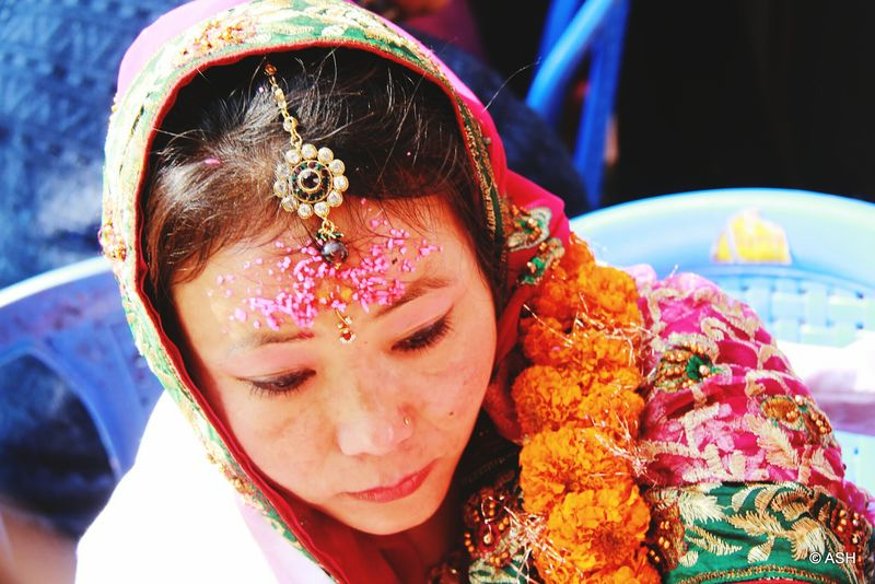 Colors Of Carnival Bride Nepali Wedding People Photography