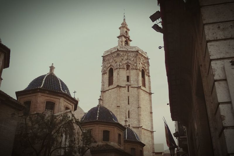 València SPAIN Micalet Mediterranean  Plaza De La Virgen Catedral Gothic Architecture Medieval Pere Compte