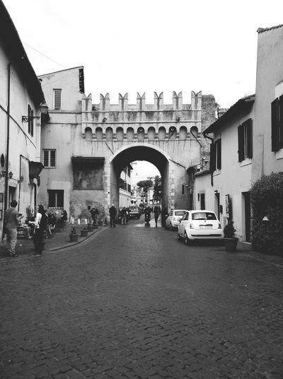 Porta Settimiana, Rione Trastevere