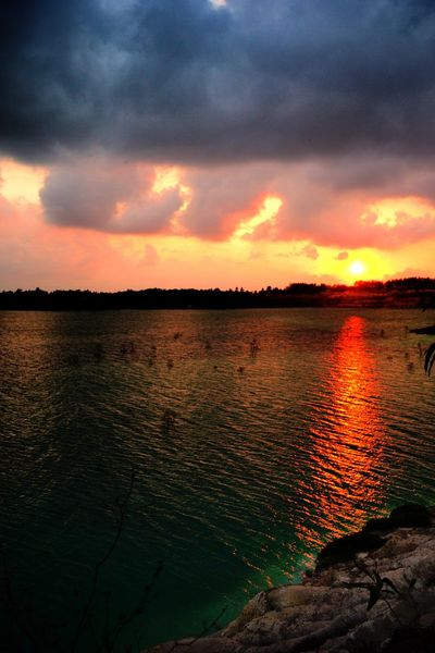 Sunset Sky Water Cloud - Sky Beauty In Nature Scenics - Nature Tranquility