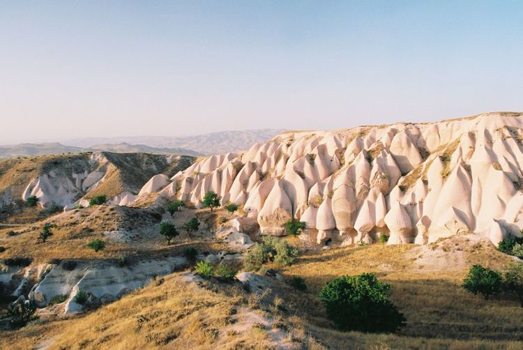 Rock - Object Nature Rock Formation Geology Beauty In Nature Outdoors No People Landscape (null)Travel Destinations Analogue Photography Analog Filmcamera EyeEm Best Shots EyeEm Selects The Week On Eyem Cappadocia Turkey Honeyvalley Perspectives On Nature