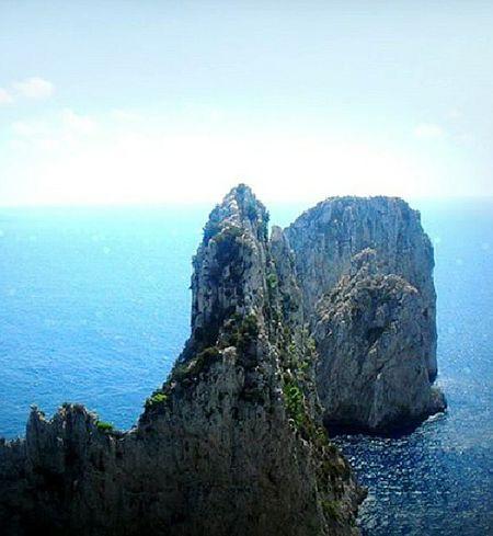 Like Photo Capri, Italy Faraglioni Napolipix Igers_campania Sea Island Paesaggimozzafiato