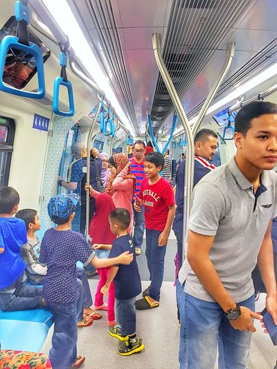 ..free early morning MRT train rides Transportation Mode Of Transport Vehicle Interior Travel Subway Train Men Commuter City Train - Vehicle Public Transportation Large Group Of People Passenger Land Vehicle Adult Group Of People Business Women People Adults Only Teamwork Asian  Young Adult Holiday - Event Transportation Mrt