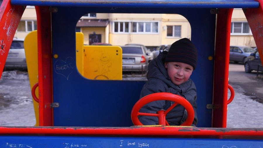 Transportation Outdoors Child A Game Happıness Playground Photography VikaK Photographer Art Photgraphy Nizniy Novgorod