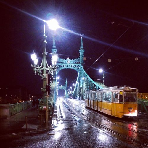 Szabadság híd - Liberty Bridge, Budapest Budapest Hungary Urban City Photography Night Street Szabadság Gellert Danube Duna Liberty Bridge Street Photography Streetphotography City Life City Street Travel Destinations Architectural Detail Cityscapes City View  Urban Landscape Travel