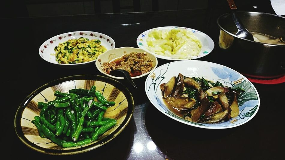 My dinner tonight. Thanks mom! I love you! Taiwanfood Healthy Delicious Homemade Homecook Yummy Momfood Dinnertime