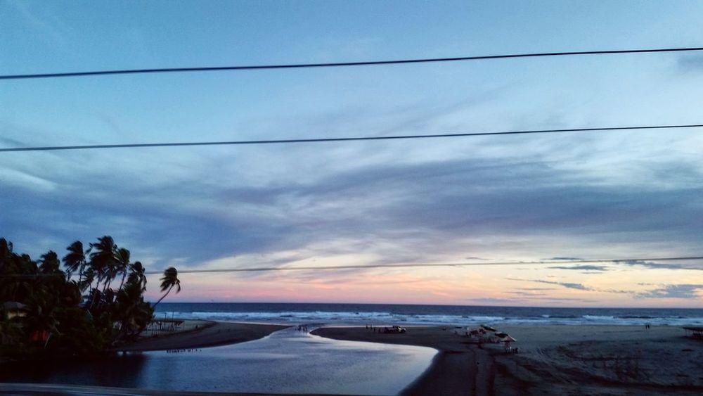 Landscapes With WhiteWall Michoacan, México Nubes Y Cielo Photonature  Sol Oceano Arena Mar Skyblue Playas Nature Photography Puesta De Sol Playa Jardin