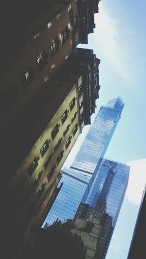 Difference is all Newyork Building Vintage Modern
