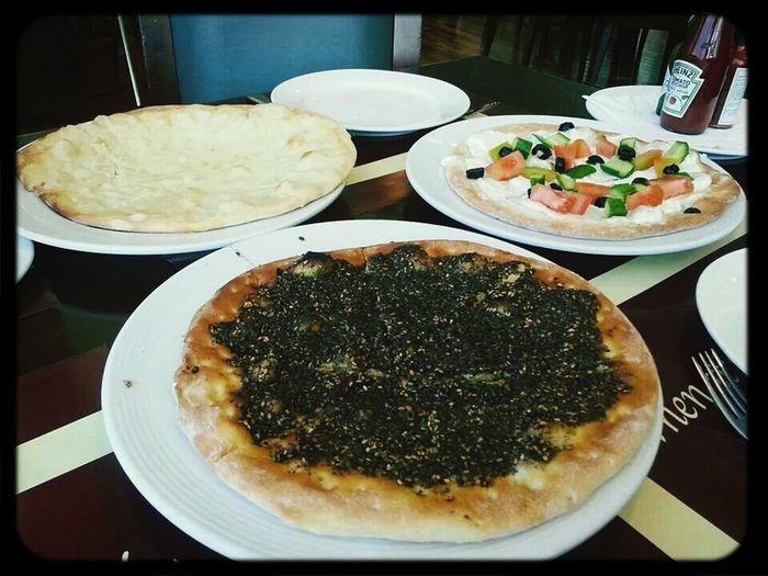 Breakfast mana'ish! Yummy!!! Lebanese Food