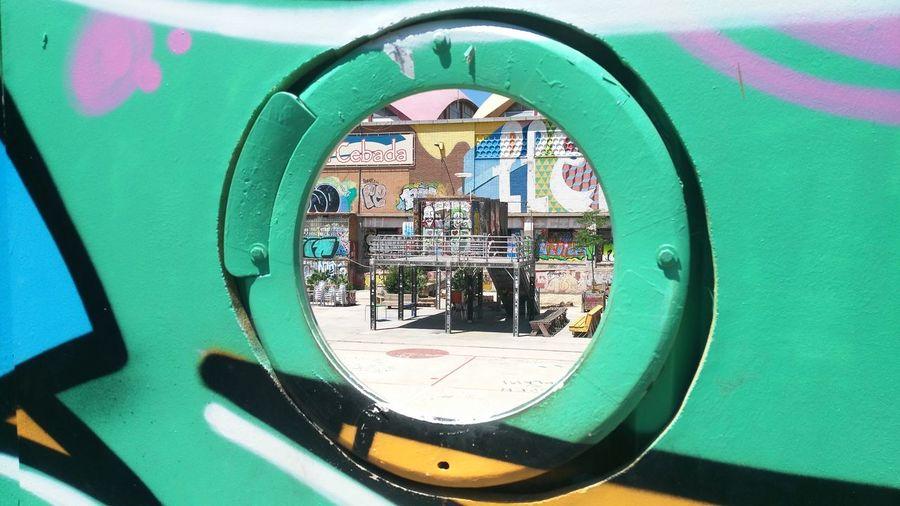 Madrid Abandoned Places Abandono Citi Colors Circle Circulo Circular Circulo adventures in the city