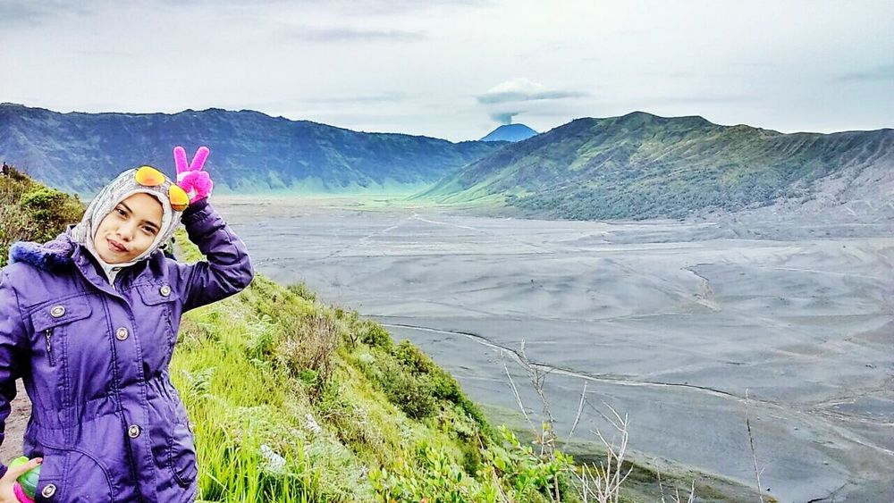 Hello Bromo! ? Faces Of EyeEm Nature That's Me Popular Photos Hello World Sky And Clouds Landscape Nature Photography
