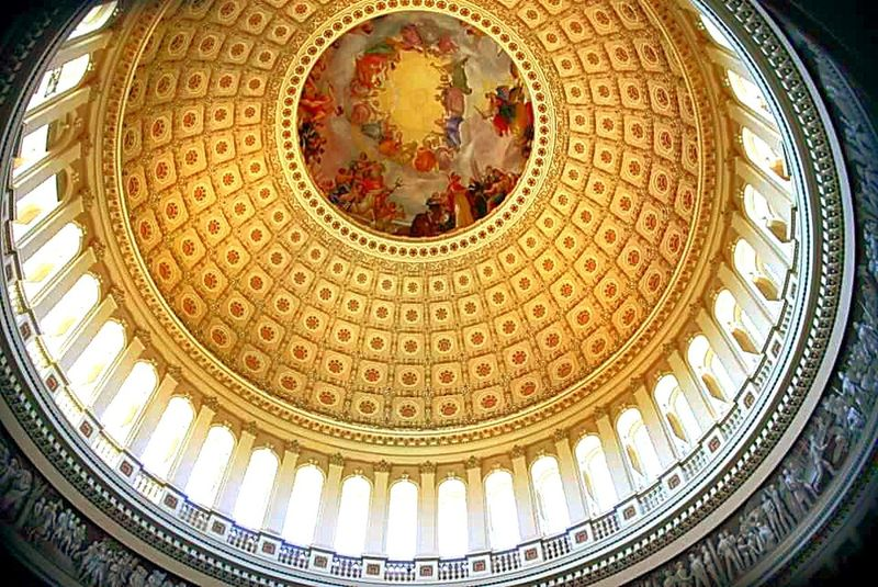 Taking Photos US Capitol Building AmericanPride Americanhistory Architectureporn Traveling Congress Senate Rotunda Amazing View