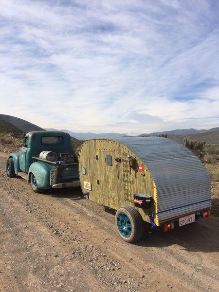 Teardrops Camper Aventura Outdoors Nature Truck RatRod solo se feliz con lo que tus manos pueden hacer por ti mismo