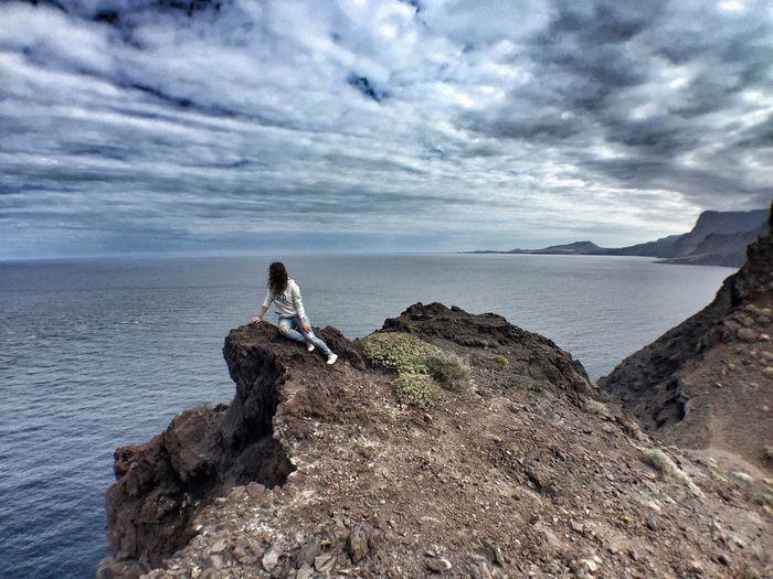Landscape Horizon Horizonte Canary Islands Islas Canarias Gran Canaria The Following Go Higher