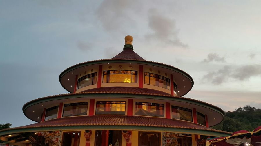 ThePagoda at Bangka Island Indonesia