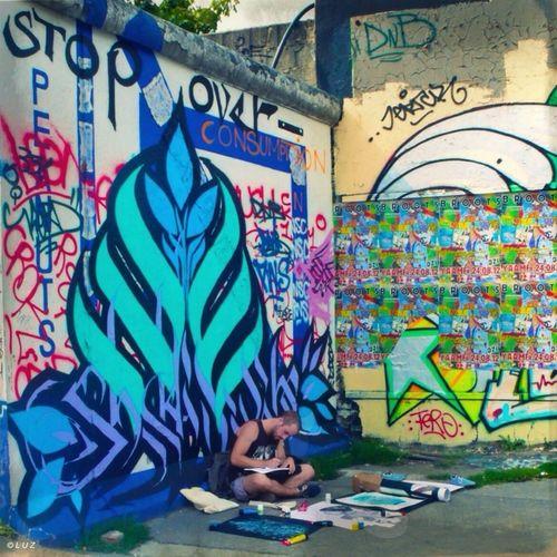 Streetphotography Berlin Graffiti Street Art/Graffiti