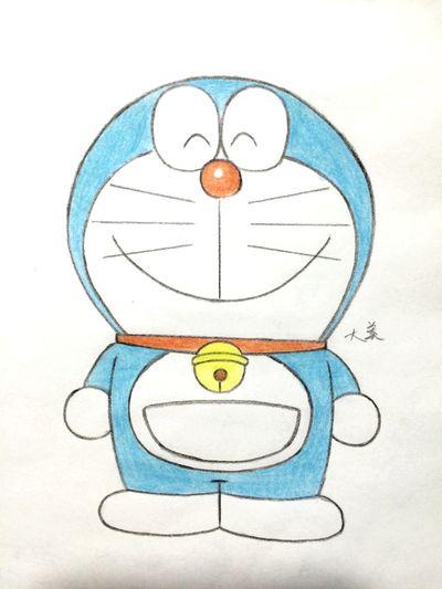 My favorite cartoon Drawing Doraemon Cartoon Lovely Blue