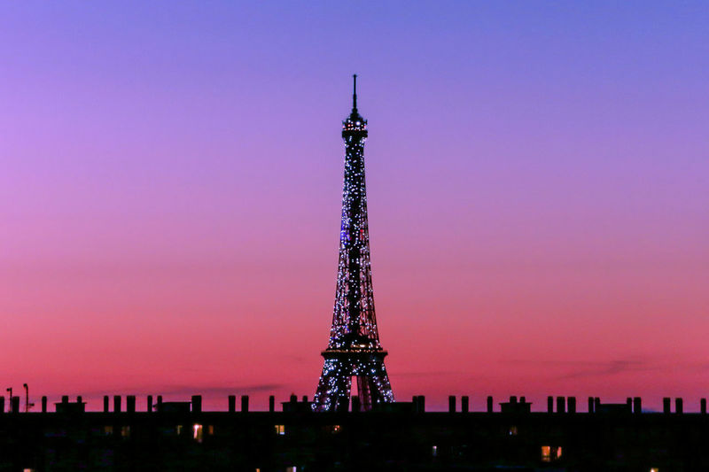 Girly Eiffel Tower 💖 Eiffeltowersparkles France Lights Paris ParisByNight ParisianLifestyle Pink SebastienFremont Travel Beautifuldestinations Eiffeltower Frenchphotographer GirlyEiffeltower GlitterEiffeltower Illuminated Lightssparkle Luxurytravel No People OnlyinParis RoofsofParis Rooftops Sparklinglights Sunset Toureiffel Tower