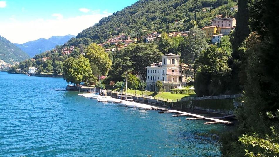 Comer See Lake Italy Comer See Tree Architecture Mountain Water Outdoors No People Nature Vacations First Eyeem Photo