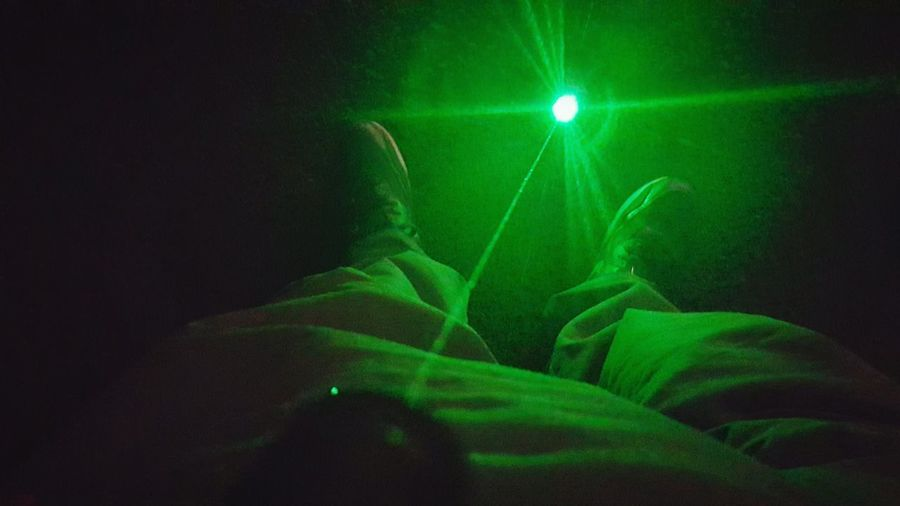 Green Color One Person People Human Body Part Green Lazer Outdoors Close-up Looking Down