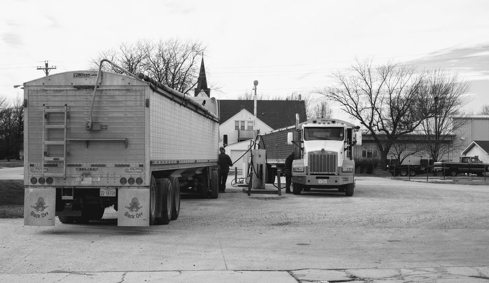 Visual Journal December 13, 2016 Beatrice, Nebraska 18 Wheeler A Day In The Life Agriculture Camera Work Diesel Truck EyeEm Gallery Farm Truck Farmers Life FUJIFILM X-T1 Fujinon 35mm 1.4 Gas Station Grain Truck Industry Mode Of Transport Narrative Photo Diary Photography Rural America Series Small Town Stories Storytelling Streetphoto_bw Transportation Visual Journal Wintertime