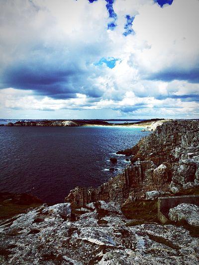 Pointe de Pen-Hir Sky Water Cloud - Sky Nature Beauty In Nature Sea Tranquility Landscape Bretagne Breizh Camaret Sur Mer