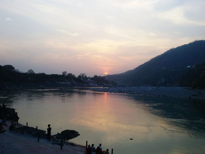 Sunset Rishikesh