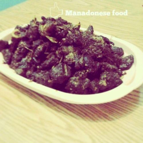 Hello Minahasa food.., long time no see.. haha Kuliner Minahasafood Manado Minahasa manadofood maknyos
