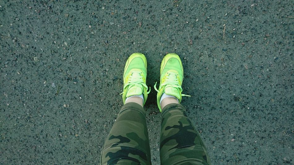 Shoe Human Leg Standing Day Airmax90 One Person Beauty In Nature Lifestyles People Adult Real People Human Foot Human Body Part Outdoors Airmax Women Of EyeEm Nogi