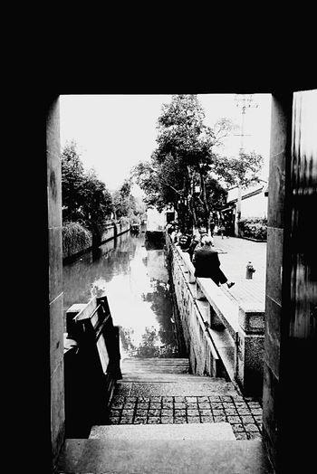 SUZHOU PINGJIANG ST Suzhou, China Jiangsu Province Suzhou SuzhouGarden Suzhou Gardens Suzhou China River Building Historic Buildings  Door