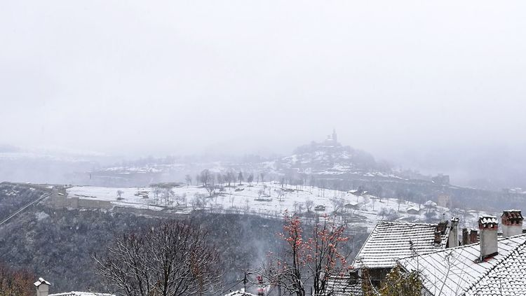 Snow day~ Winter Snow Cold Temperature Outdoors Landscape Scenics Mountain Snowing Nature Beauty In Nature Fog Winter 2017 Cold Weather Snow ❄ History Ancient Bulgaria Travel Destinations