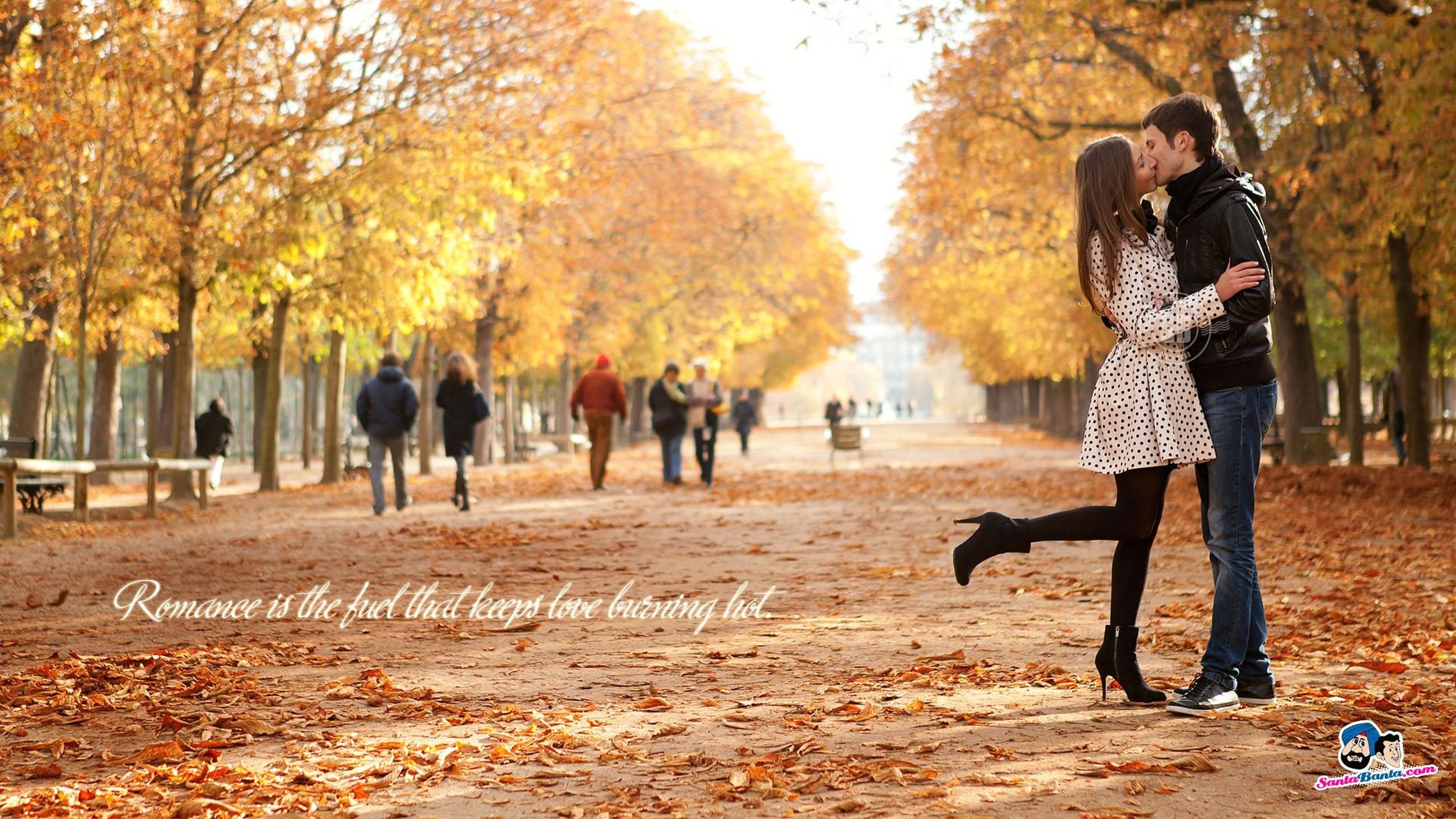 lifestyles, leisure activity, full length, tree, casual clothing, togetherness, childhood, men, boys, autumn, rear view, bonding, girls, season, walking, elementary age, standing