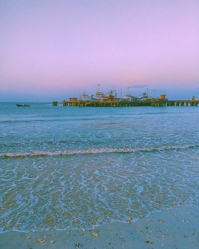Water Sea Beach Nautical Vessel Blue Cityscape Sunset Business Finance And Industry UnderSea Sky