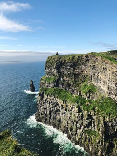 Cliffs of Moher Mothernature Amazing East Coast Beauty View Cliffs Europe Ireland Cliffs Of Moher  Sea Water Sky Nature Beauty In Nature Sunlight Day Horizon Over Water Horizon Land