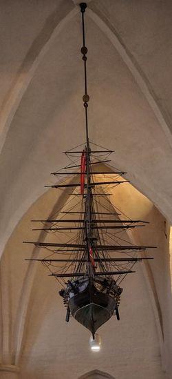 Ship Danish Church Kirchenschiff Flensburg