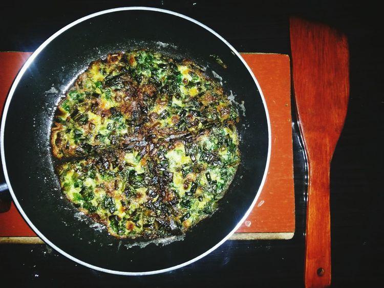 Foodphotography EyeEm Azerbaijan Meetup national Regional food Omelette with Green Amazing Testy The Foodie - 2015 EyeEm Awards