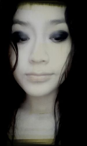 Make Up Black Black & White Darkness