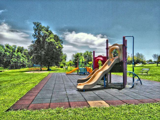 Playground Playground Equipment Playground Structure Playground Slide United States USA Photos Park Life Park HDR Nature Landscape_Collection Landscape Landscapes Nature HDR EyeEm United States Of America Tadaa Community Fine Art EyeEm USA  Beauty Is In The Eye Of The Beholder Nature Photography
