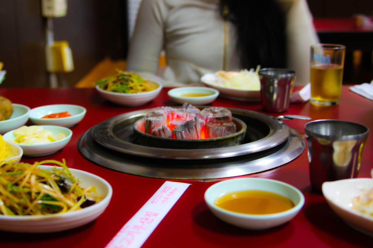 food and drink, table, plate, food, bowl, indoors, freshness, chopsticks, healthy eating, serving size, drink, refreshment, drinking glass, ready-to-eat, meal, close-up, real people, day