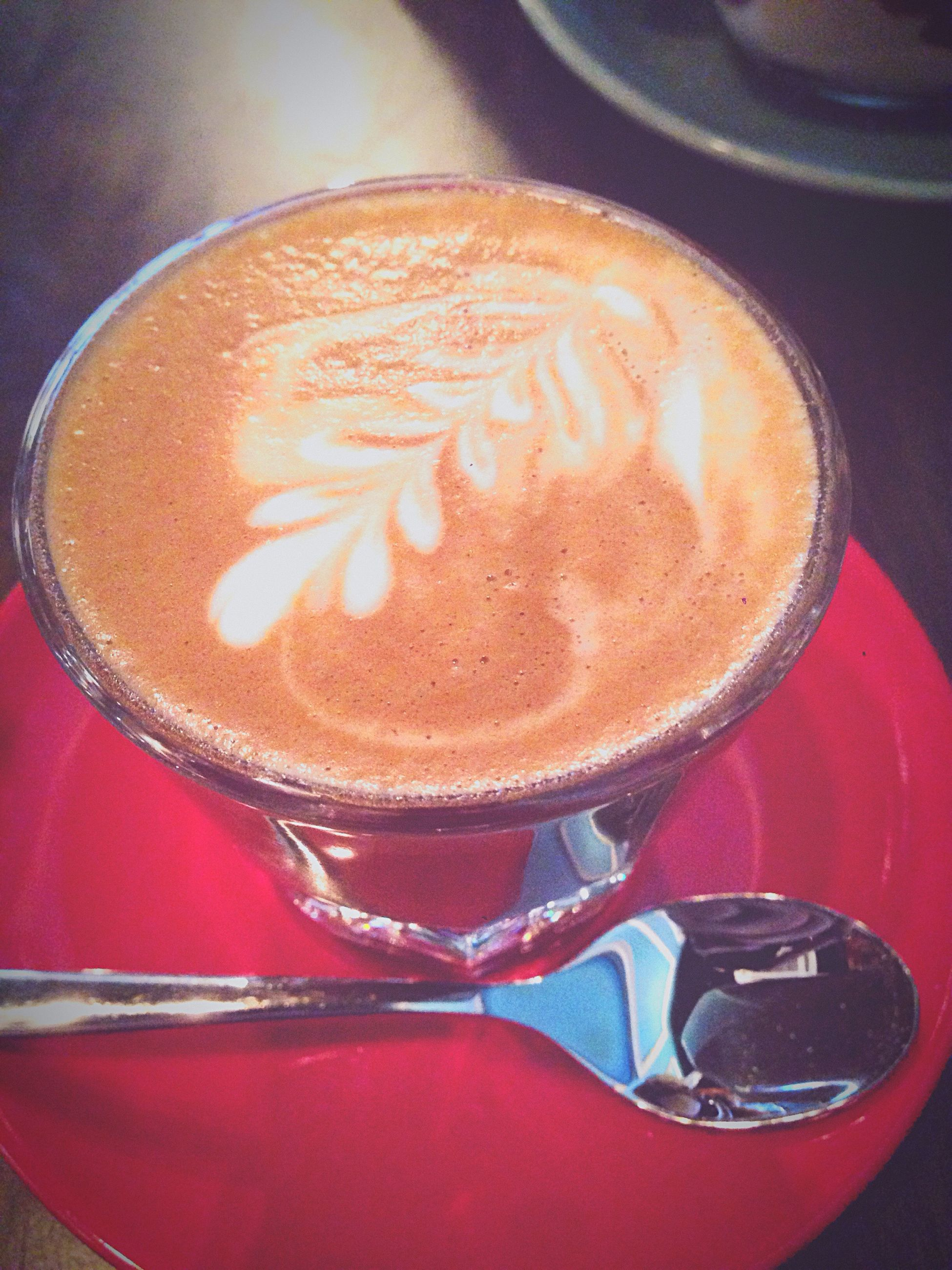 close-up, freshness, red, refreshment, still life, coffee - drink, indulgence, focus on foreground, no people, selective focus