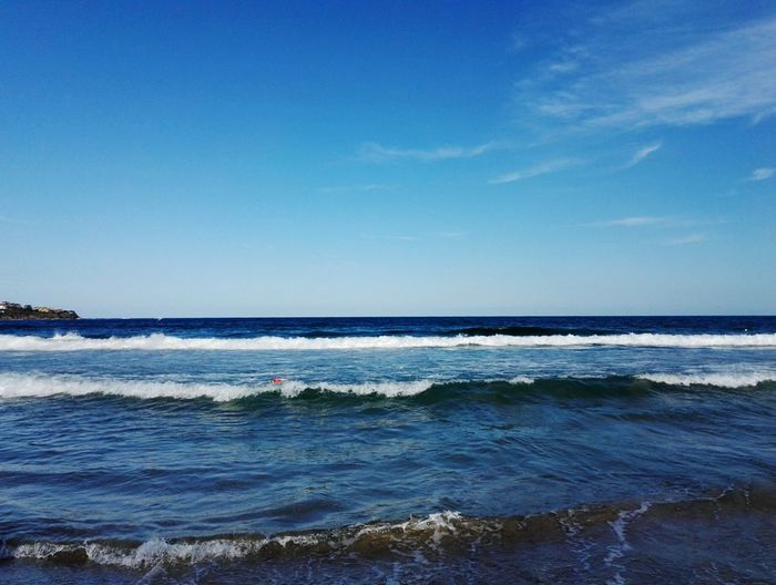 Sea love Summer Water Wave Sea Beach Blue Sand Summer Sky Horizon Over Water Seascape Rocky Coastline Coastal Feature