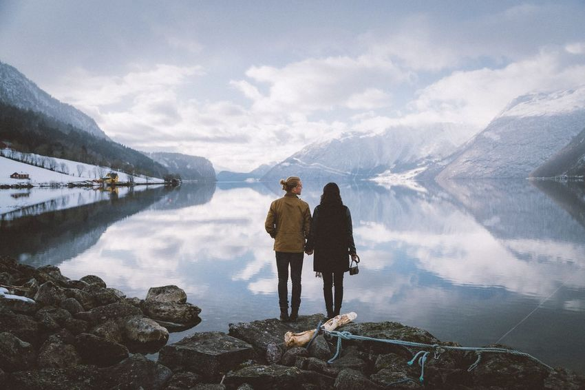 Watching the fjords Norway Travel Explore EyeEm Best Shots Vacation Rural Power In Nature Landscape Nature Mountains Outdoors Vscocam Exploring VSCO Traveling Reflection The Week On EyeEm Editor's Picks