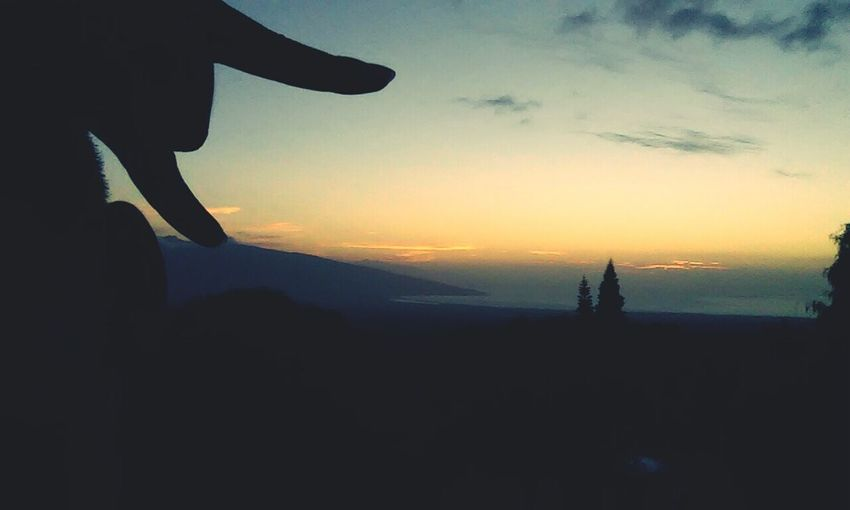 Kula sunset Maui Sunset Hawaii🌴 Paradise ❤ First Eyeem Photo
