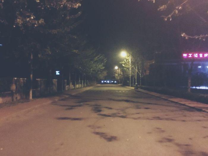 last night! Night Street Outdoors Relaxing Enjoying Life