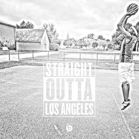 🙏🏾🇺🇸🇺🇸Straight Outta L.A🇺🇸🇺🇸🙏🏾 Taking Photos Straightouttacompton Losangeles L.A. Enjoying Life Playing Basketball Hello World That's Me Photography Blackandwhite
