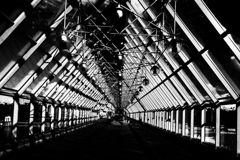 Blackandwhite Lightanddarkness Darkness And Light Absract Art Contrast Bridge Moscow
