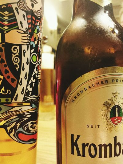 Drinking Beer German Beer 🍻 Krombacher Good Evening