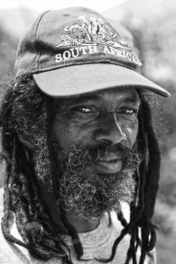 Closeup Macro Fisherman Africa Dreds  Lovely Man Blackandwhite Portrait Photography