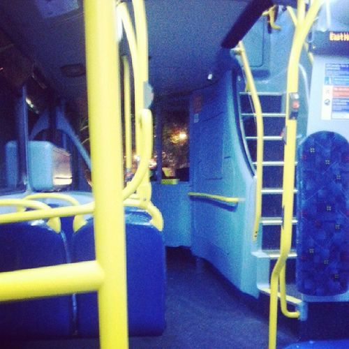 Nightbus cos I'm all about that Glamorous  London lifestyle lol