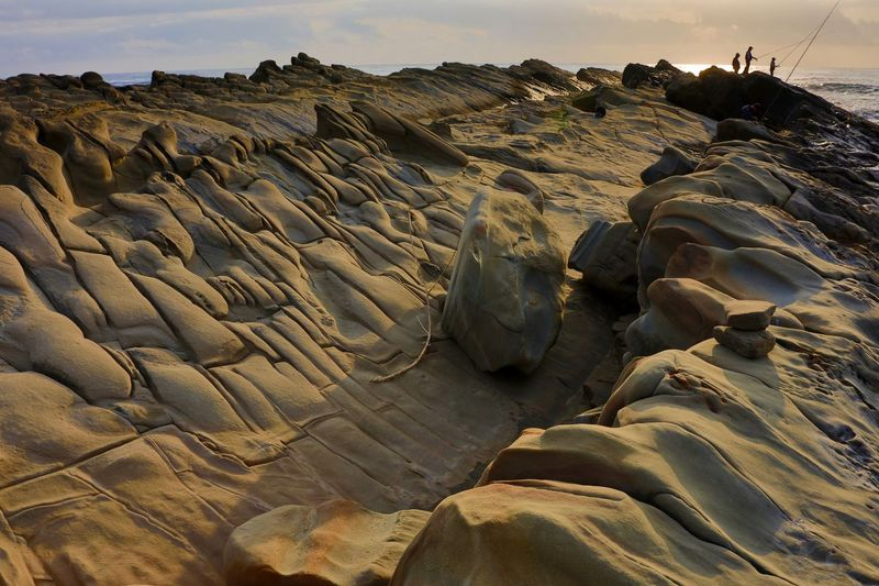 Land Nature Sand Sky Rock Solid Beach